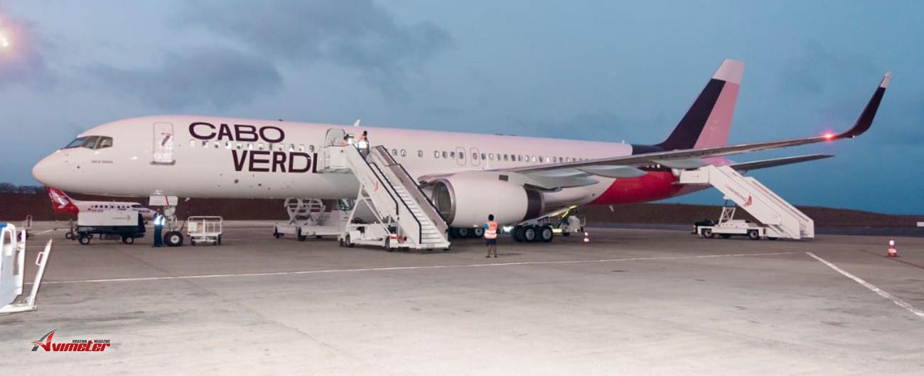 Cabo Verde Airlines Receives Second Airplane Named 'Baía de Tarrafal'