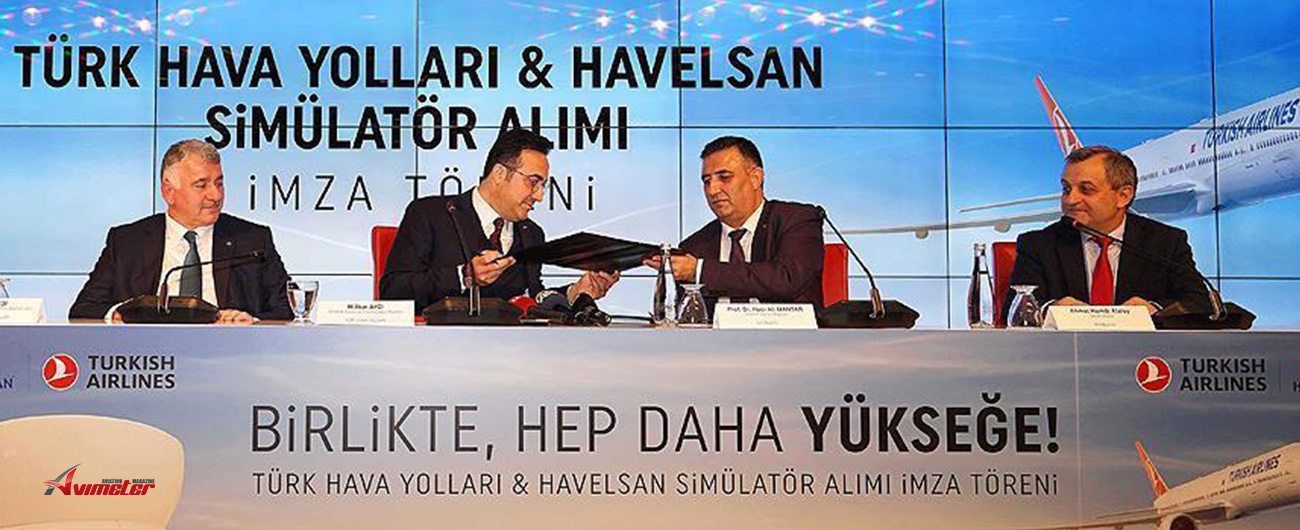 Turkish Airlines signed a deal with HAVELSAN to receive flight simulators that support pilot training