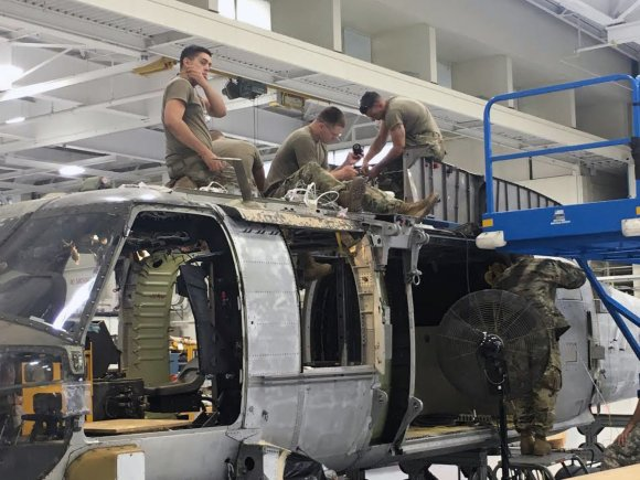 New York aviation mechanics turn wrenches to support Northeast UH-60 fleet