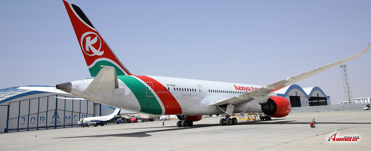 Kenya Airways Partners with Joramco for Heavy Maintenance Services on its B787 Aircraft