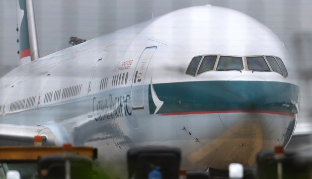 Cathay Pacific passenger arrested after kicking, hitting flight attendant for slow service