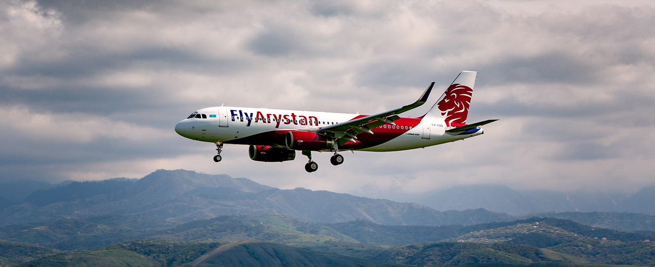 FlyArystan launches new destinations