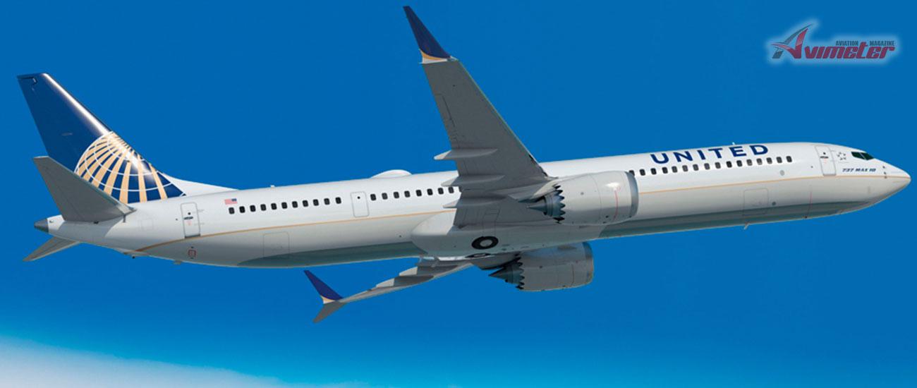 MAXimum Comfort, MAXimum Efficiency United Airlines to Start Boeing 737 MAX 9 Service
