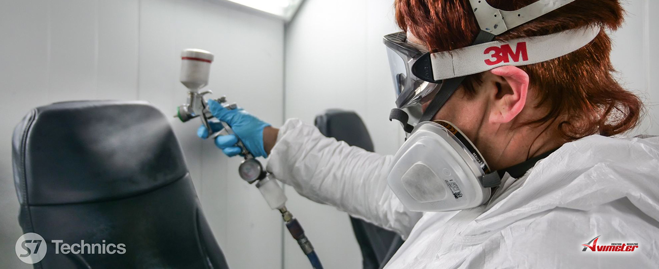 S7 Technics launches an aircraft seat cover repair facility at its Tolmachevo maintenance base