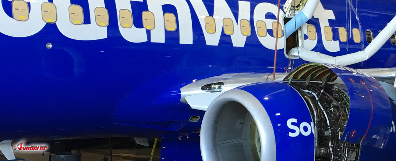 NVision Gets Bird-Damaged 737 Back in the Skies Fast