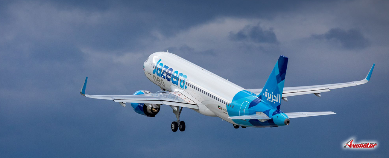 Jazeera Airways takes delivery of second Airbus A320neo