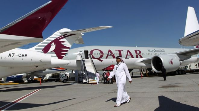 Anti-Qatar bloc opens 'emergency routes' to Qatari planes