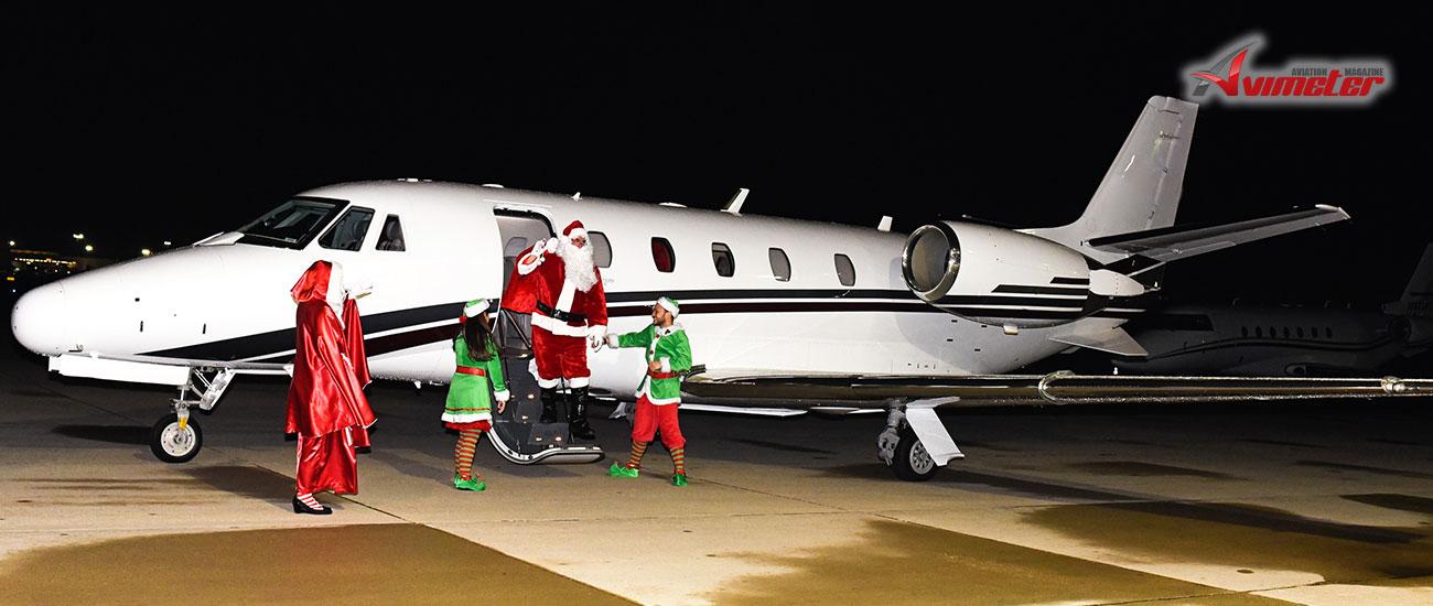 PrivateFly opens Santa's Gulfstream grotto