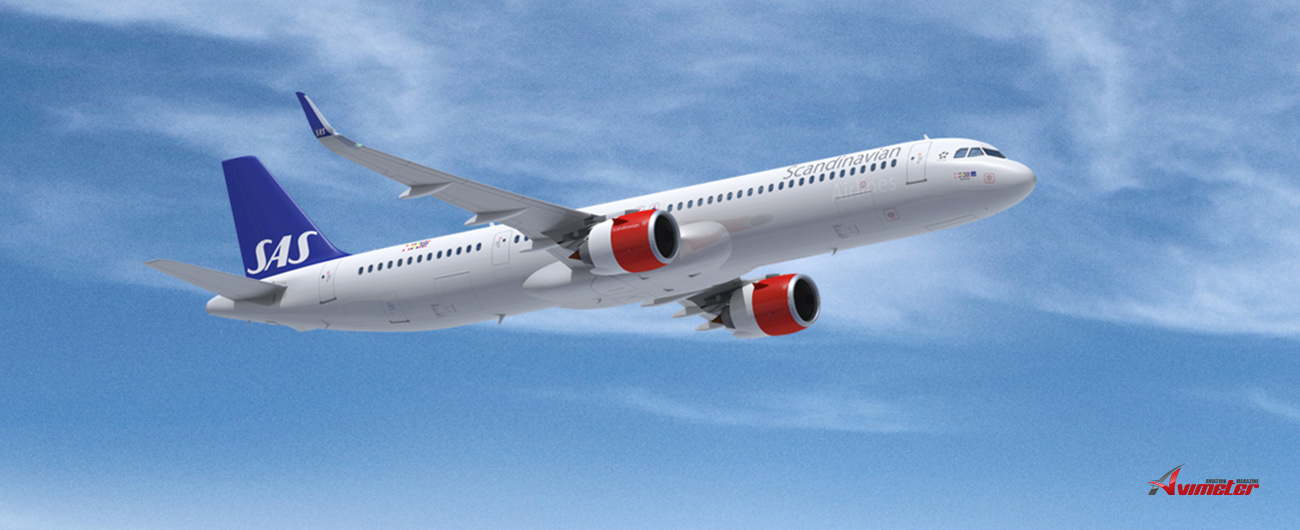 SAS expands its fleet – leases three A321 Long Range