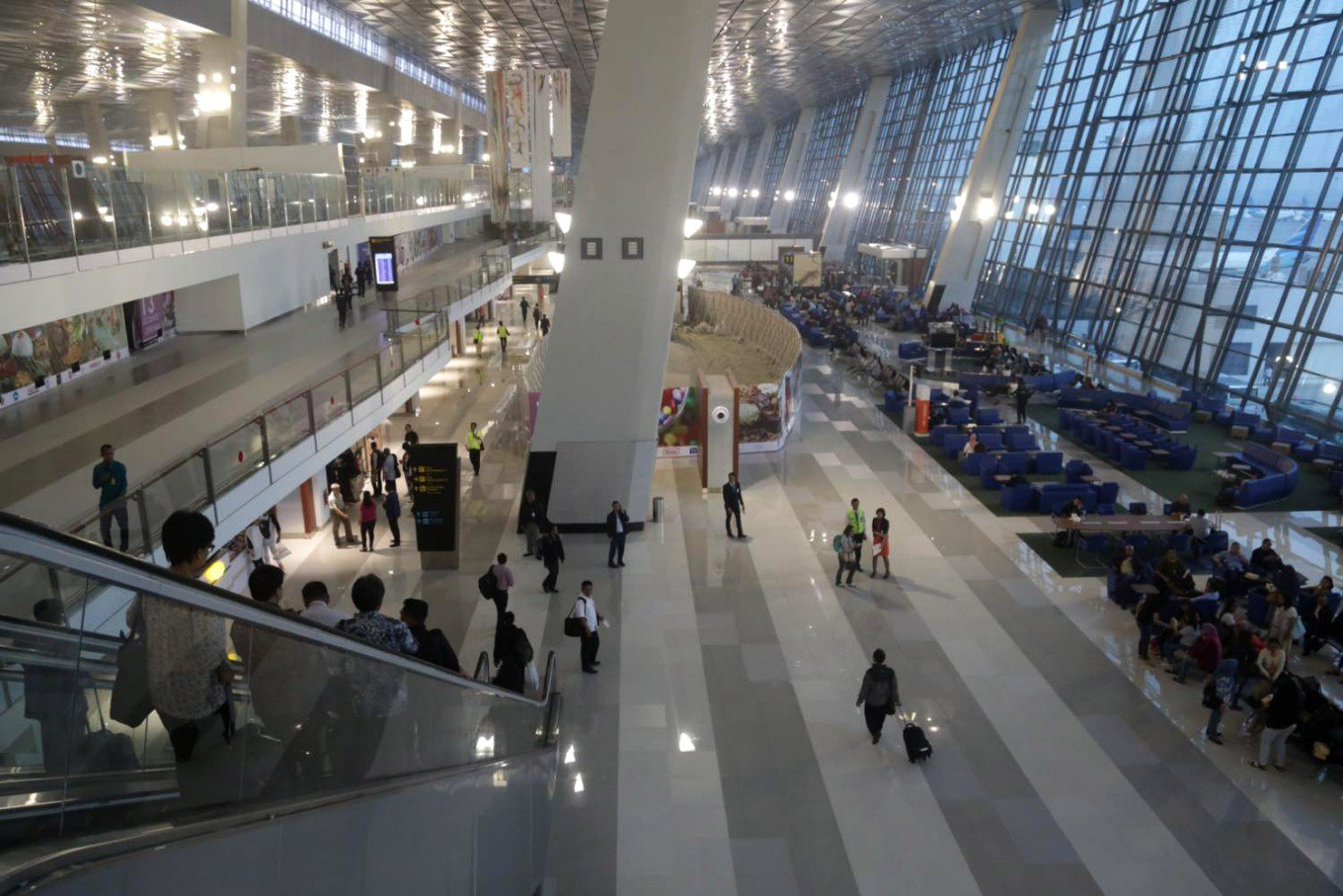 Terminal 3 ready for more int'l airlines