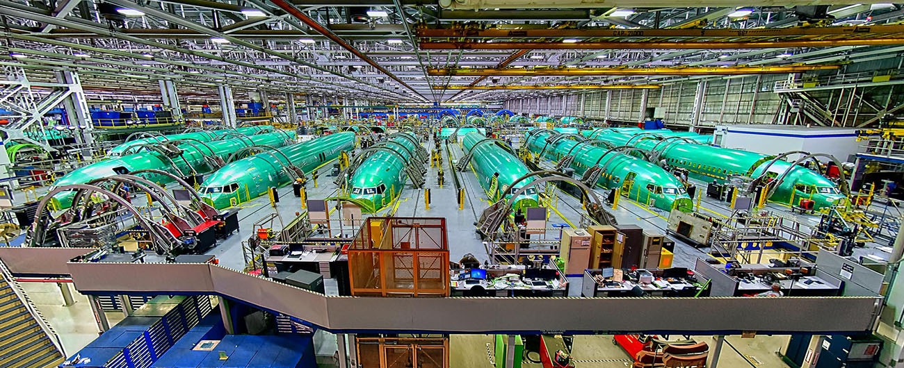 Spirit AeroSystems Suspends Boeing Production Work
