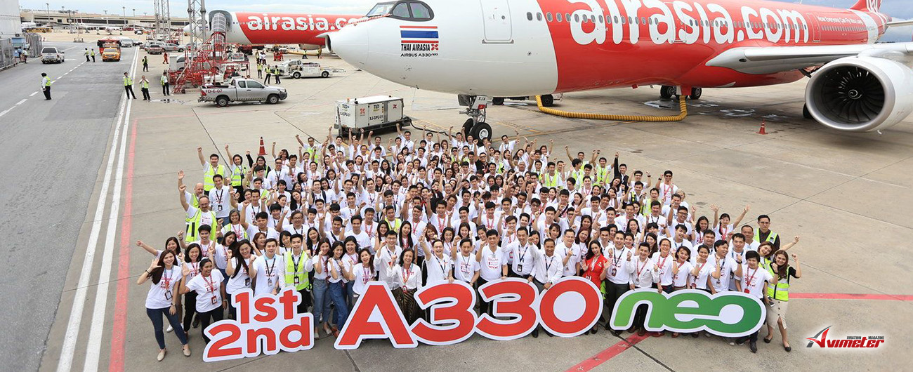 AirAsia Launches Future Of Long-Haul Fleet