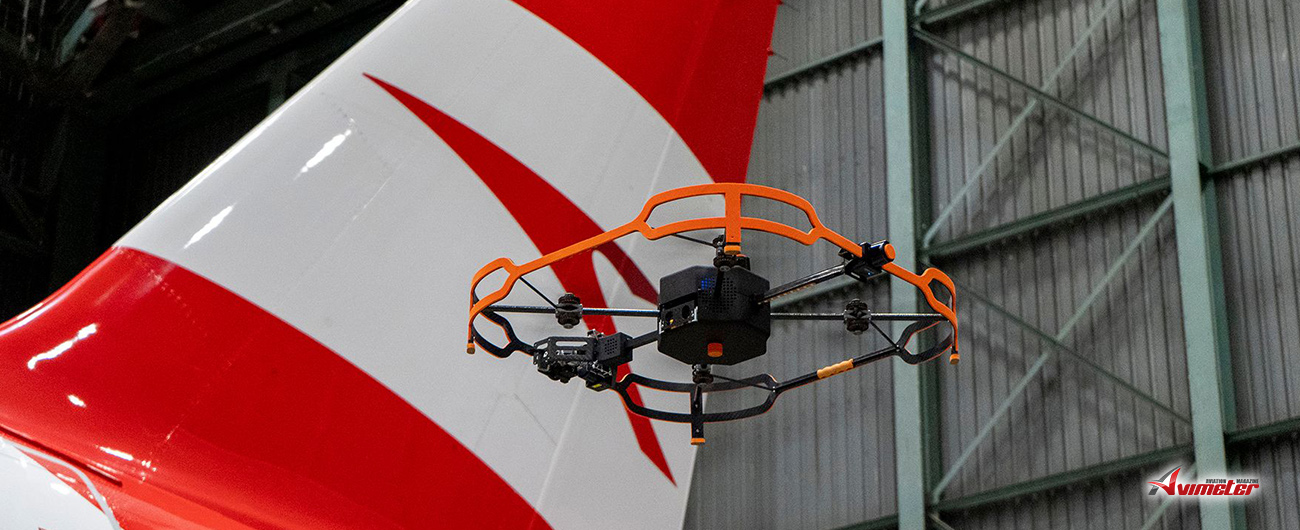 Austrian Airlines Relies on Innovative Drone Technology for Aircraft Inspections