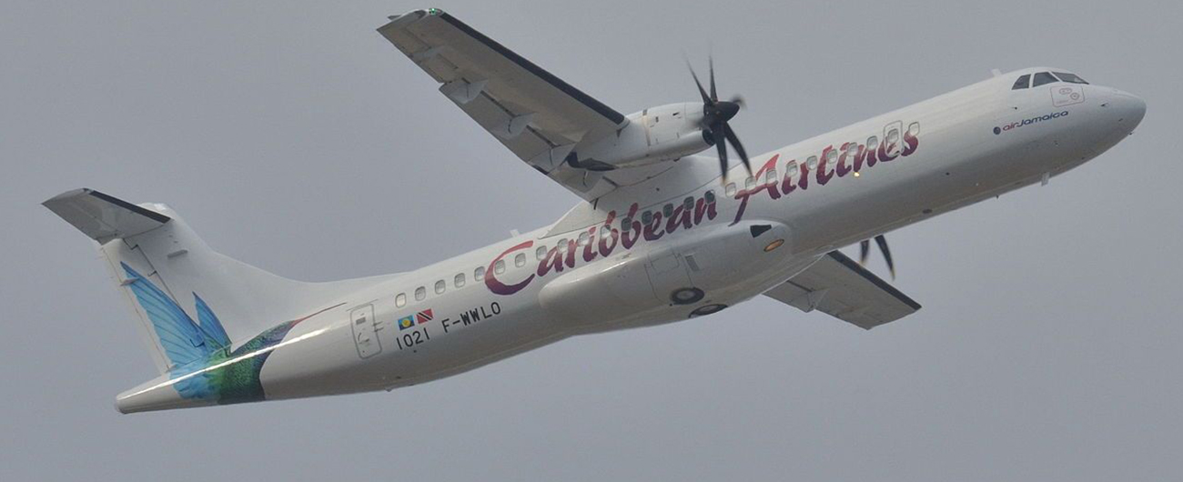 NAC delivered one ATR 72-600, MSN 1318, to Caribbean Airlines on lease