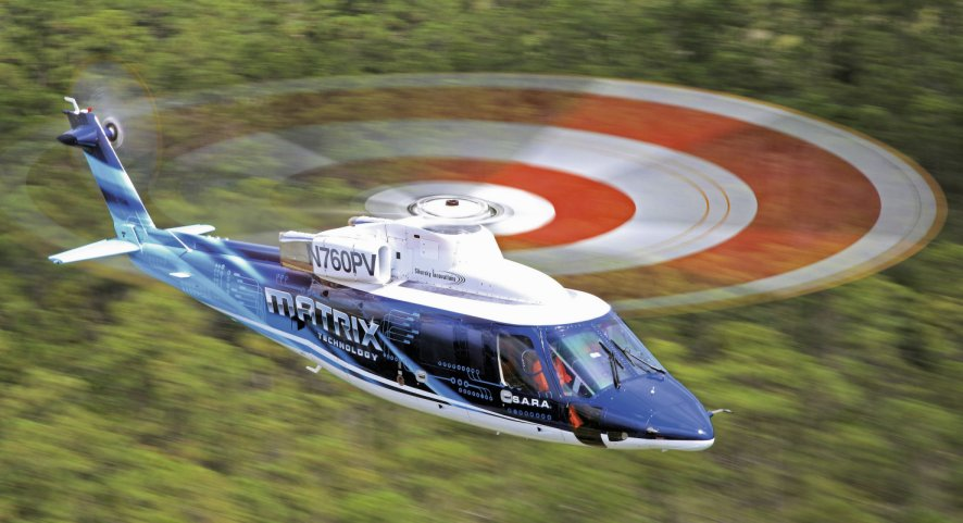 Autonomous helicopter makes appearance at aviation event