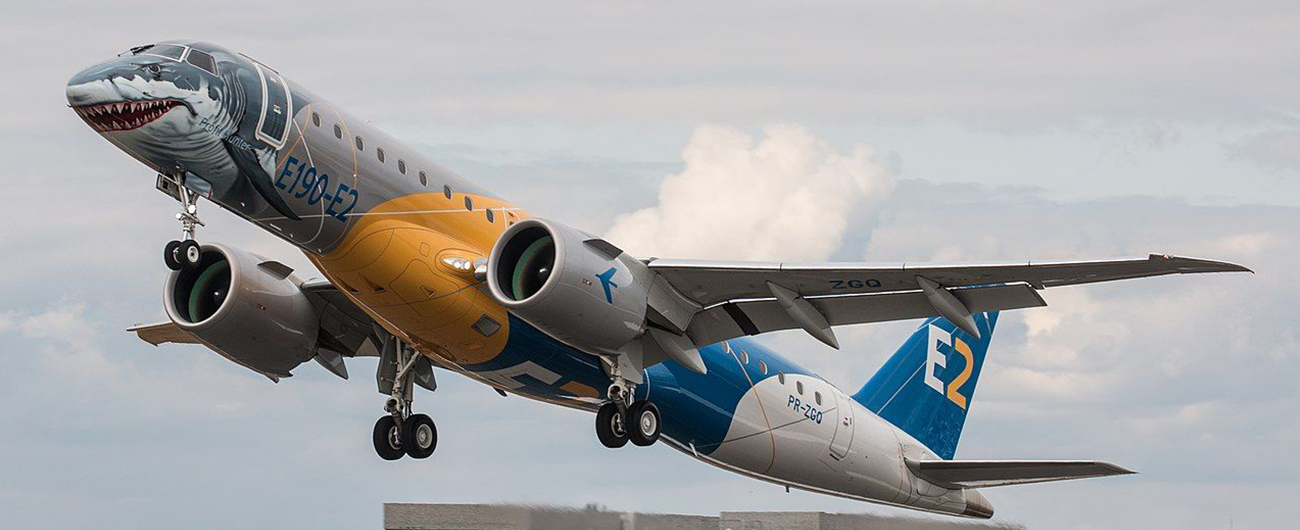 Embraer Delivers 198 total jets in 2019