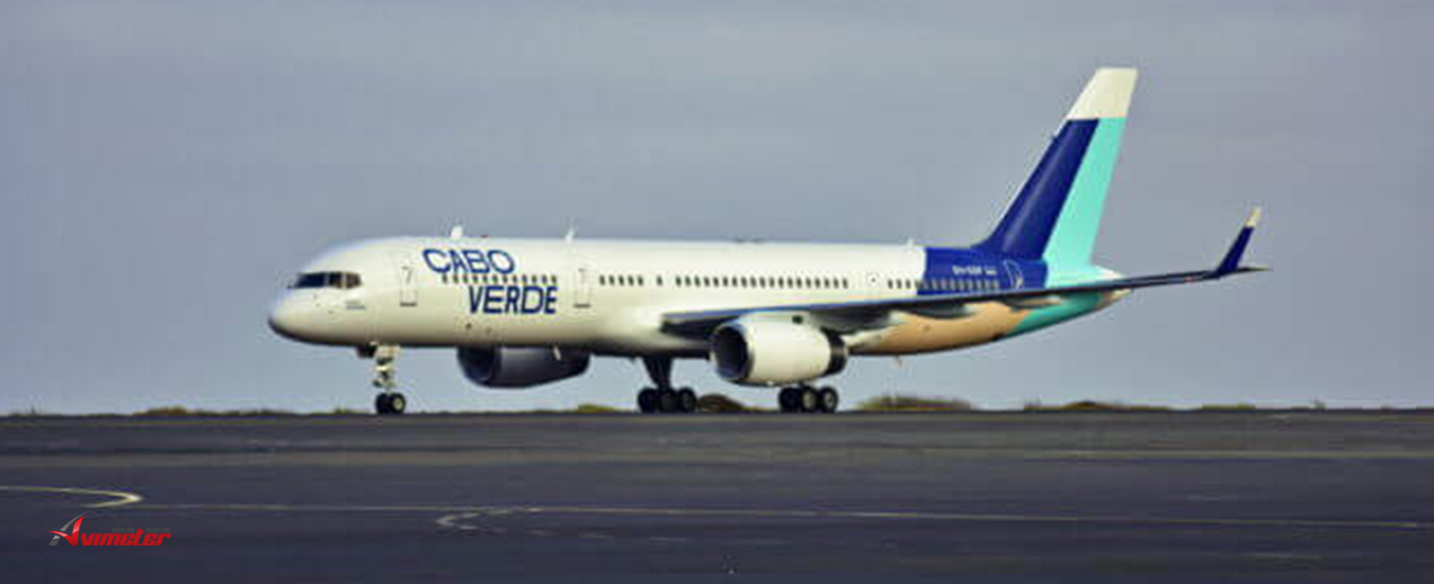 Cabo Verde Airlines celebrates the arrival of the first aircraft in new livery