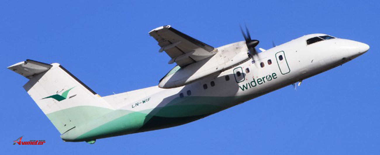 Widerøe Signs Up Another Four Dash 8-100 Aircraft for Bombardier's Extended Service Program