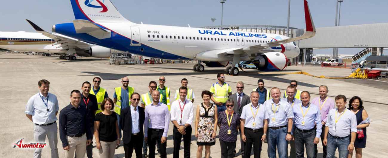 Ural Airlines welcomes second A320neo