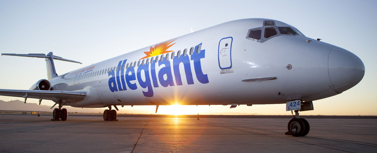 Allegiant Air flight forced to turn around after air conditioning fails