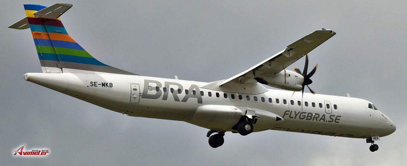 Avation Plc: Second ATR 72-600 Delivery To Braathens