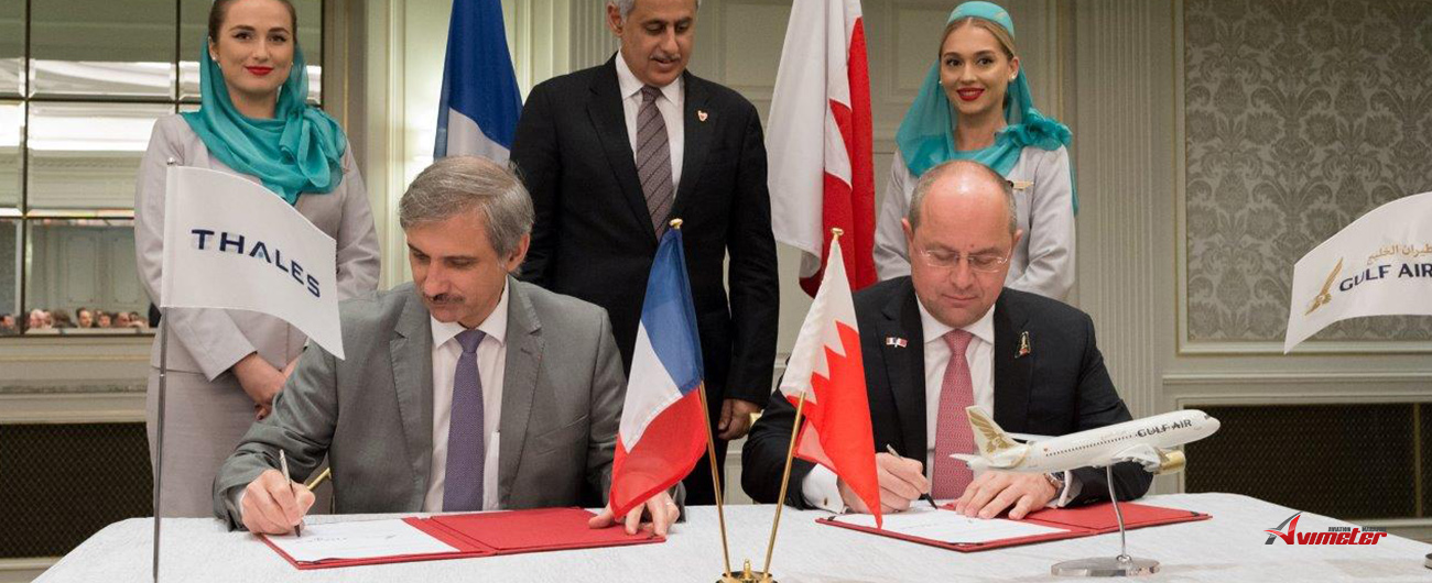 Gulf Air Signs with Five French Companies During the Royal Visit to France