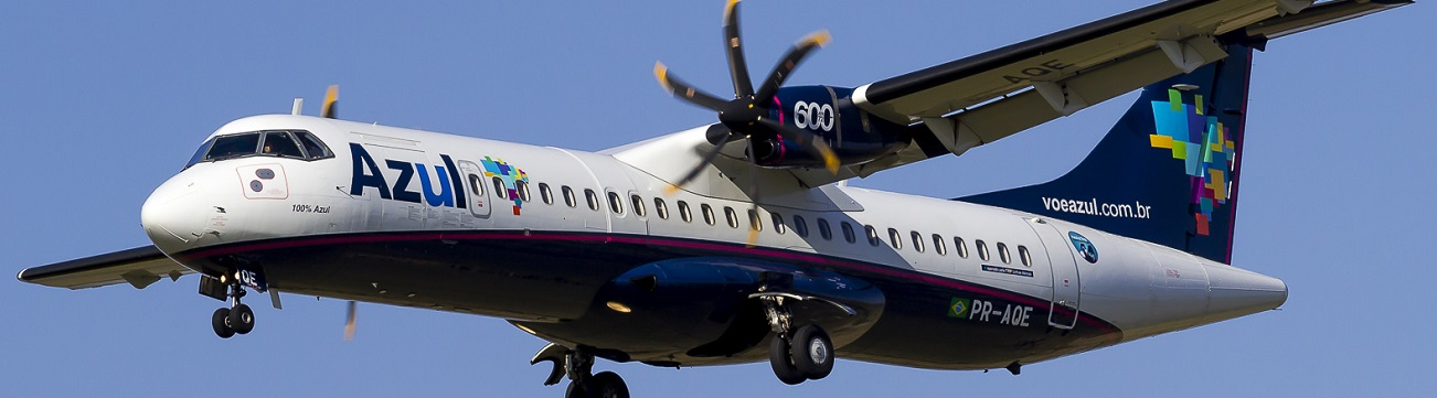 NAC purchased ten ATR 72-600s from Azul and delivered three new ATR 72-600s to the airline on lease