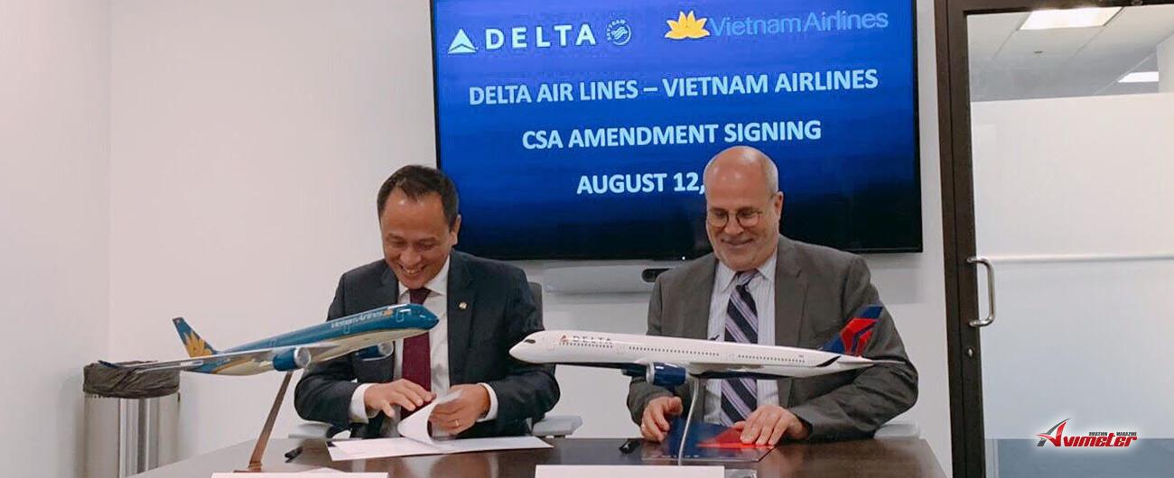 Vietnam Airlines and Delta Air Lines enhance Vietnam - US connection