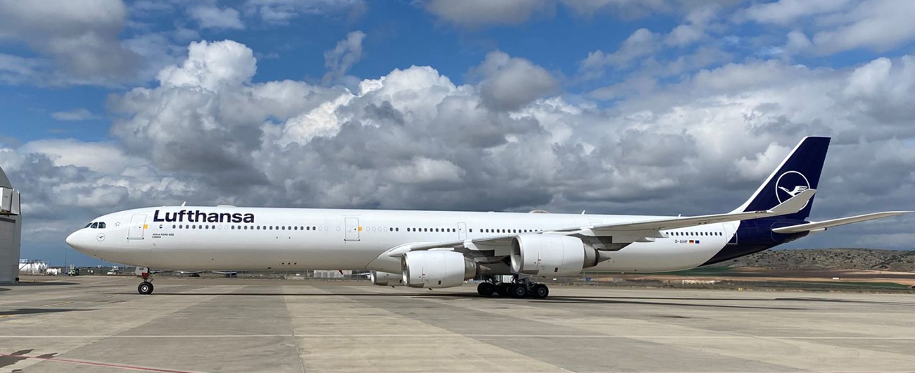 Lufthansa temporarily decommissions A340-600 fleet