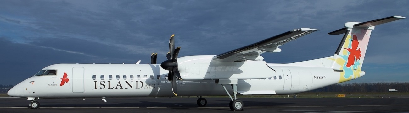 Island Air Completes Transition To All-Q400 Fleet