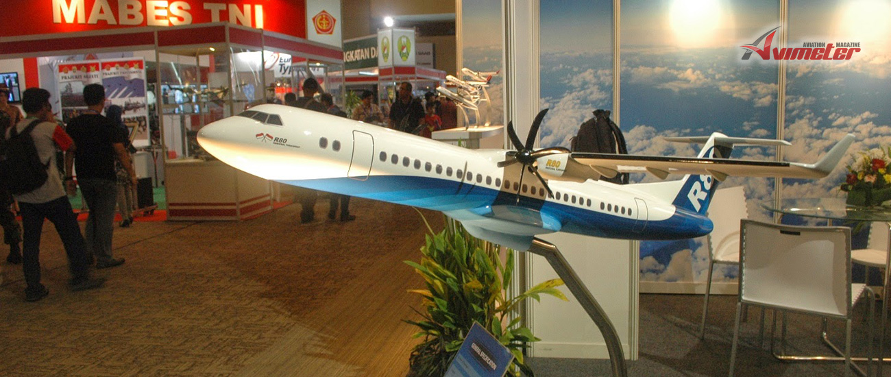 Indonesia's R80 turboprop expects to fly from 2022