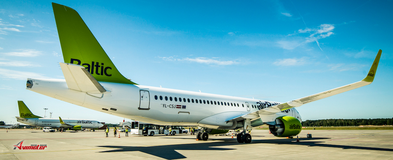 airBaltic Launches Flights from Tallinn to Malaga, Brussels and Copenhagen