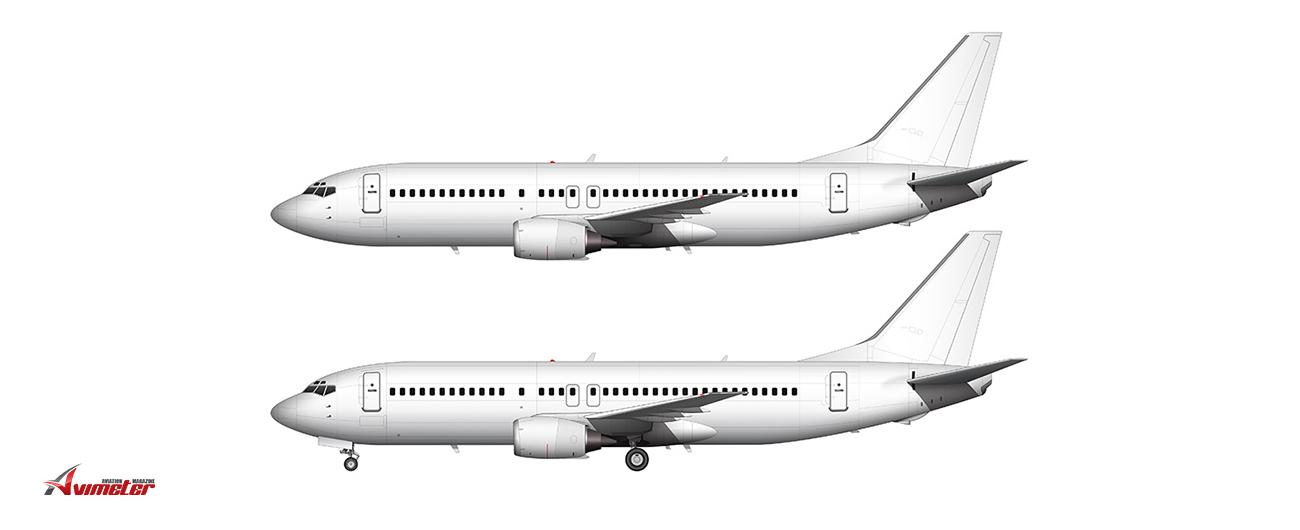 AEI Announces B737-400SF For Royal Aero