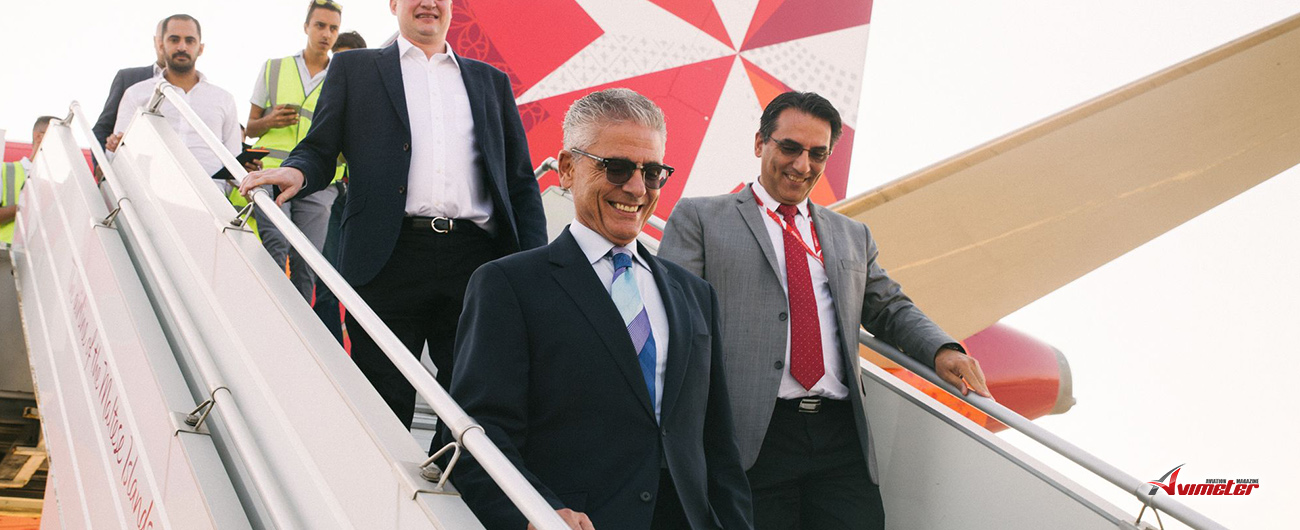 Third brand new Airbus A320neo joins Air Malta's fleet