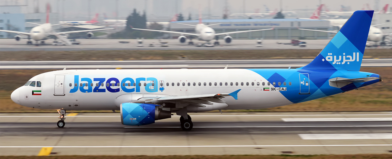 Jazeera Airways puts its entire fleet at disposal of State of Kuwait for repatriation flights