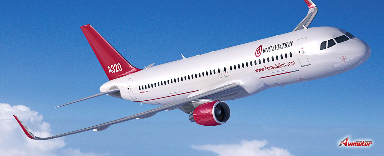 BOC Aviation Delivers Second Of Ten Airbus A320Neo Aircraft To Air China