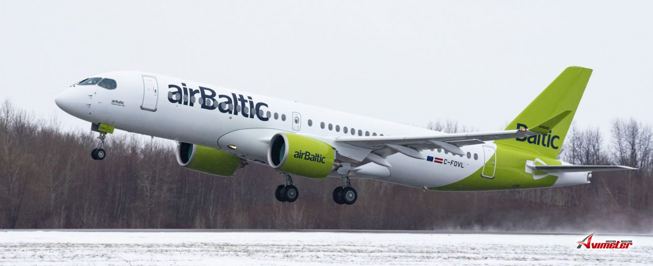 airBaltic in Canada Celebrates its 21st Airbus A220-300 in a New Livery