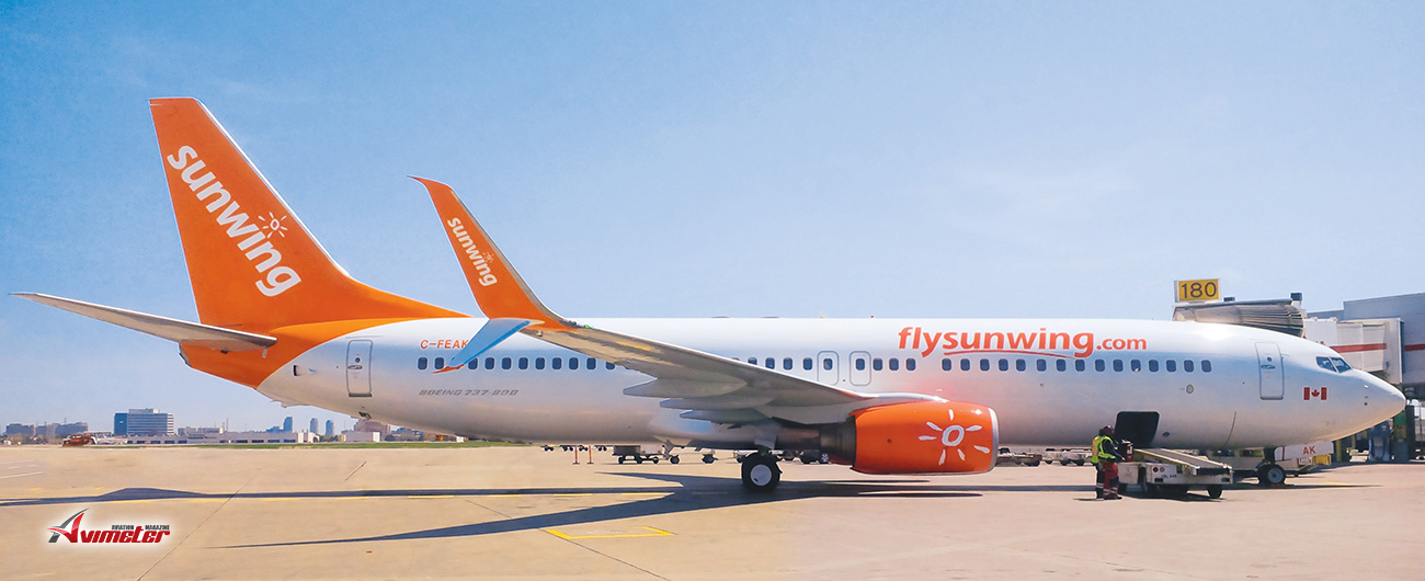 Sunwing finalizes winter schedule to operate without Boeing 737 MAX 8