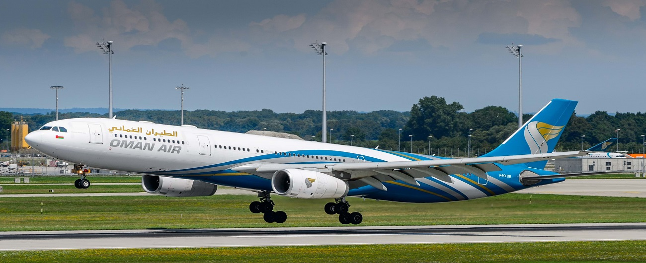 Oman Air And Royal Jordanian Airlines Announce Codeshare Agreement