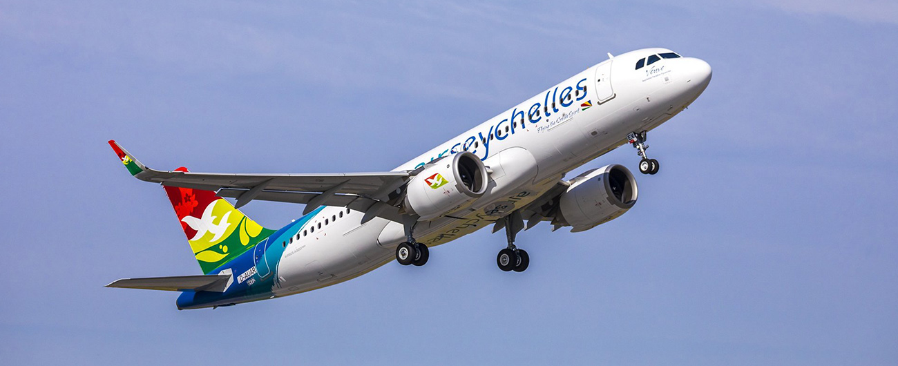 Air Lease Corporation Announces Delivery of New Airbus A320-200neo Aircraft to Air Seychelles