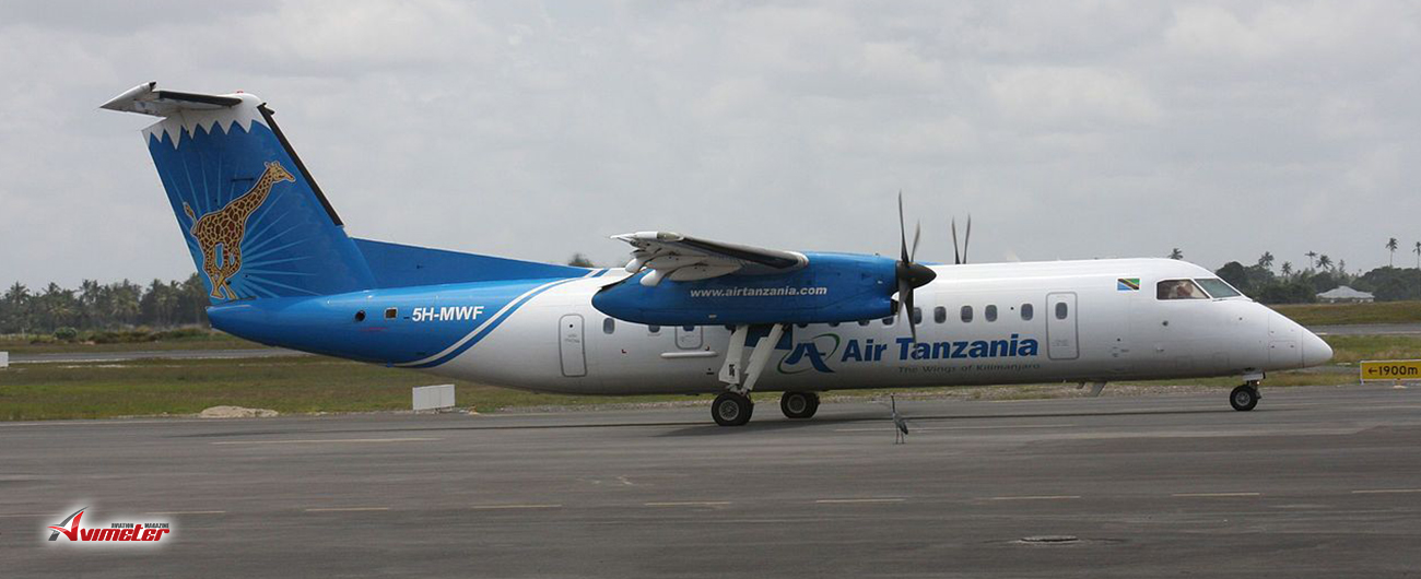 De Havilland Canada Books Its First Firm Order for Dash 8-400 Aircraft with Purchase Agreement from Air Tanzania