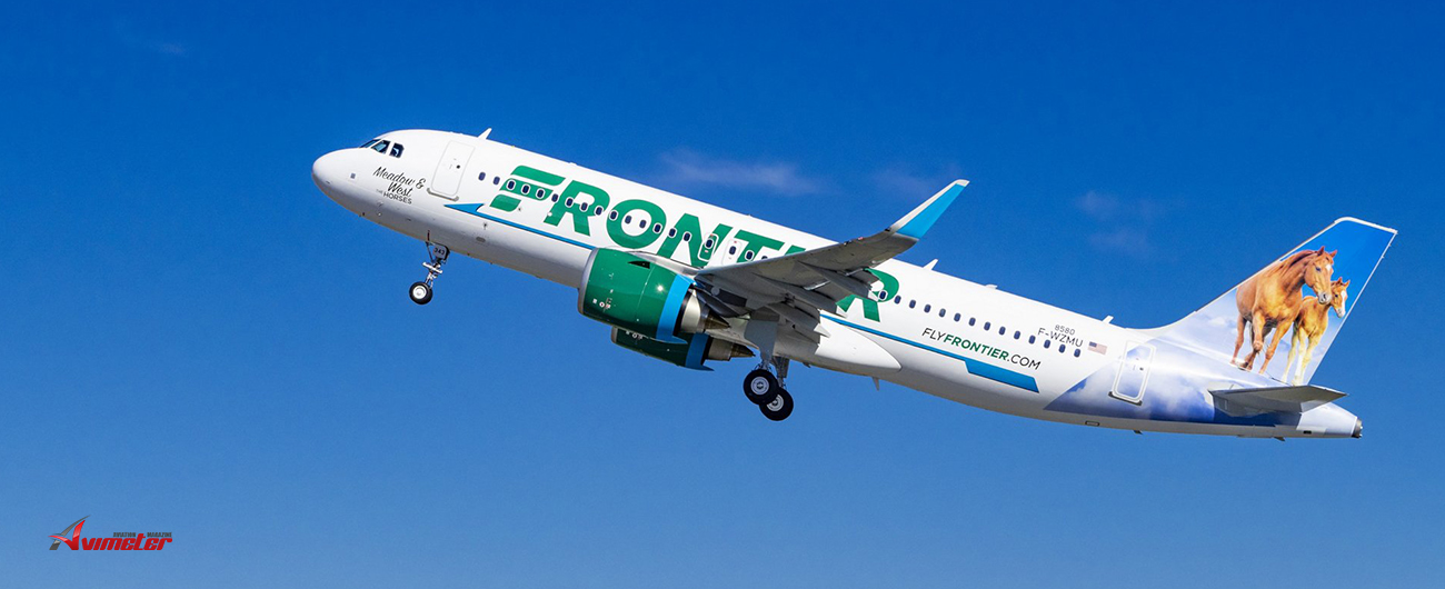 GOAL delivers an Airbus A320neo on lease to Frontier Airlines