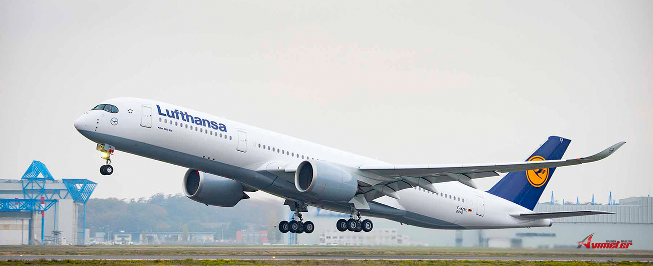 Lufthansa orders 20 additional A350-900 wide-body aircraft
