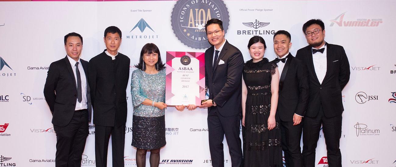 L'Voyage wins AsBAA award