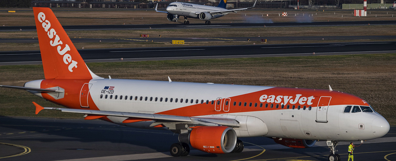 easyJet to ground majority of fleet from 24 March