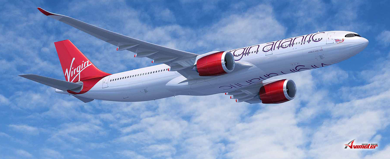 Air Lease Corporation Announces Lease Placement of Six New Airbus A330-900neos with Virgin Atlantic Airways