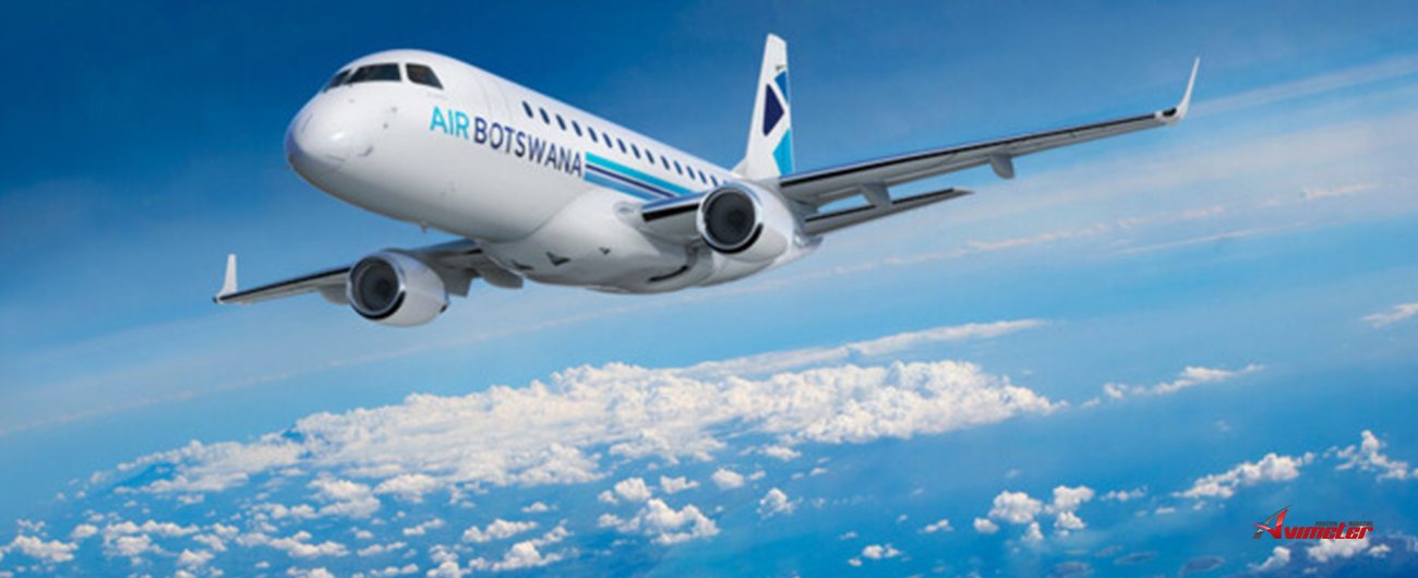 Embraer and Air Botswana Sign Pool Program Agreement for its E170 Aircraft