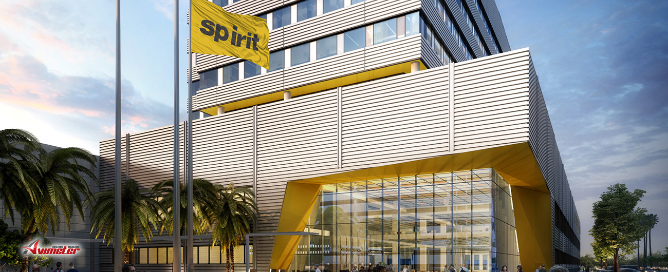 Spirit breaks ground on $250 million headquarters near Fort Lauderdale-Hollywood International Airport