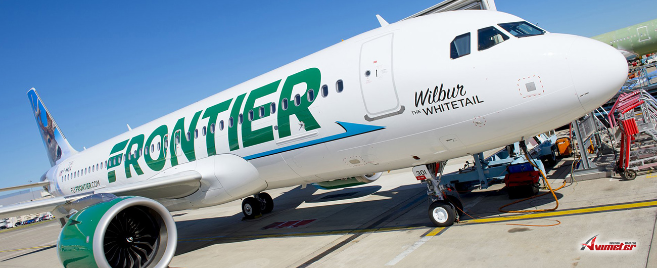 Jackson Square Aviation Announces Delivery of Two New Airbus A320NEO Aircraft to Frontier Airlines