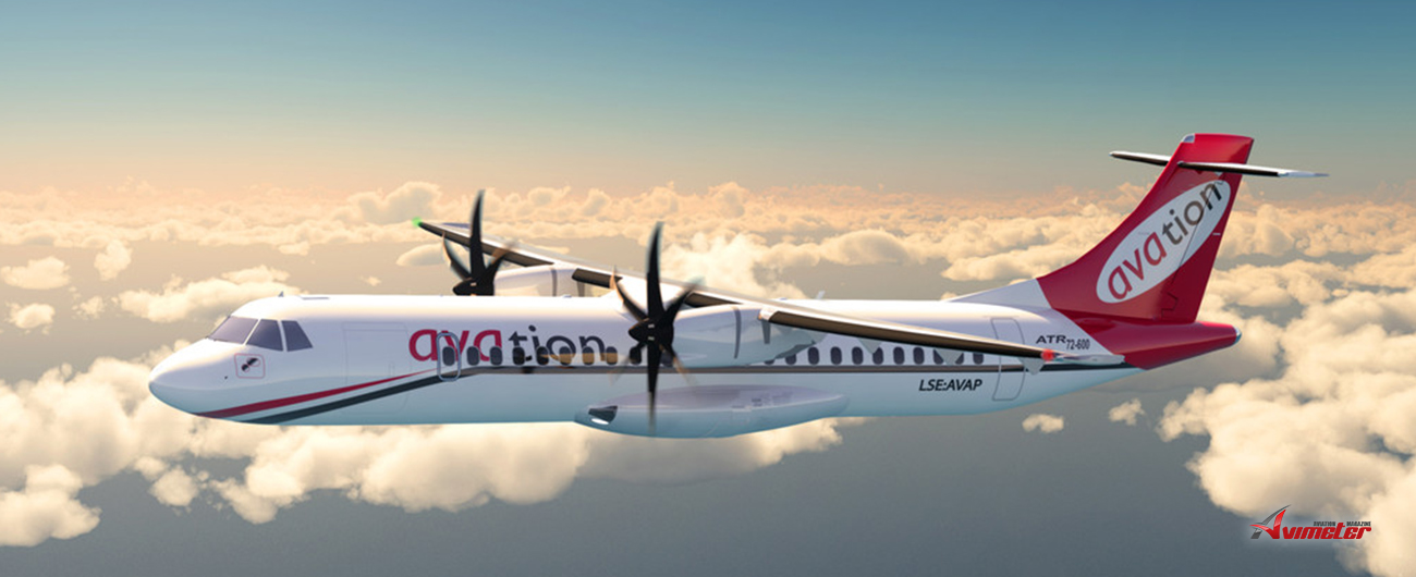 Avation: Placement Of ATR-72 Aircraft And Half-Year Results